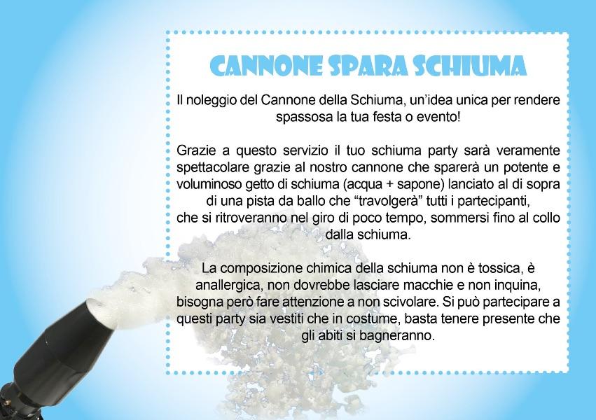 CANNONE-SPARA-SCHIUMA